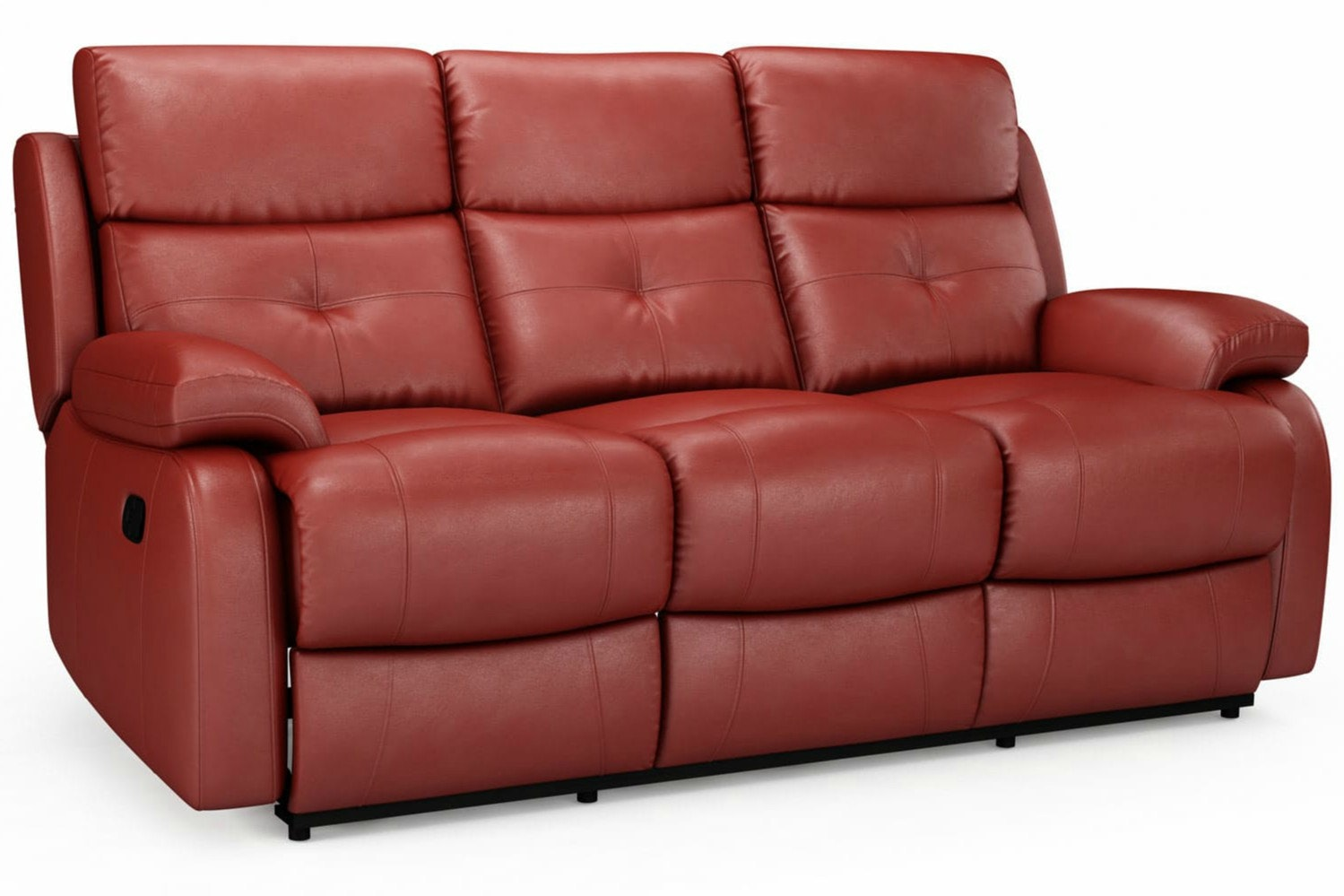 Mino 3 Seater Leather Recliner Sofa ...