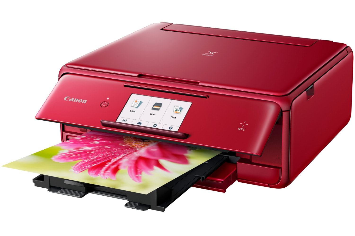Canon TS8052 Multifunction Printer | Red