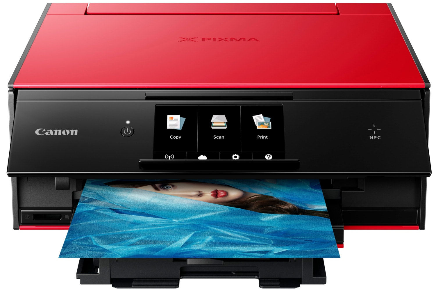 Canon TS9055 Multifunction Printer | Red