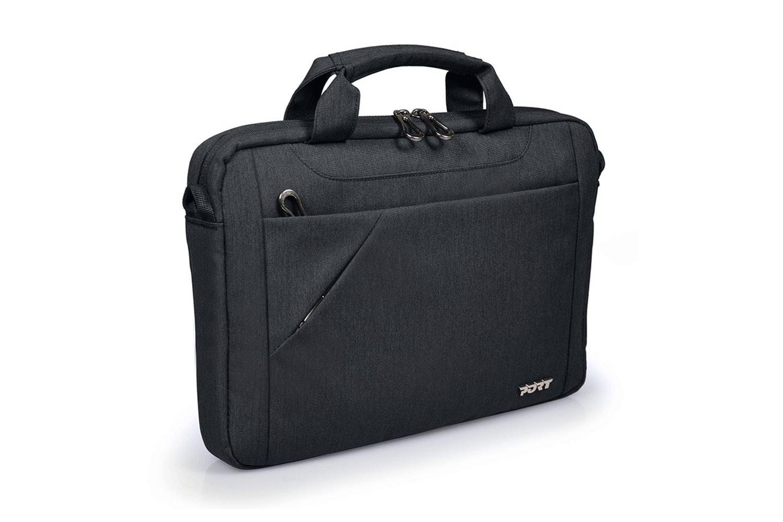 """Port Sydney 15.6"""" Messenger Bag   Black"""