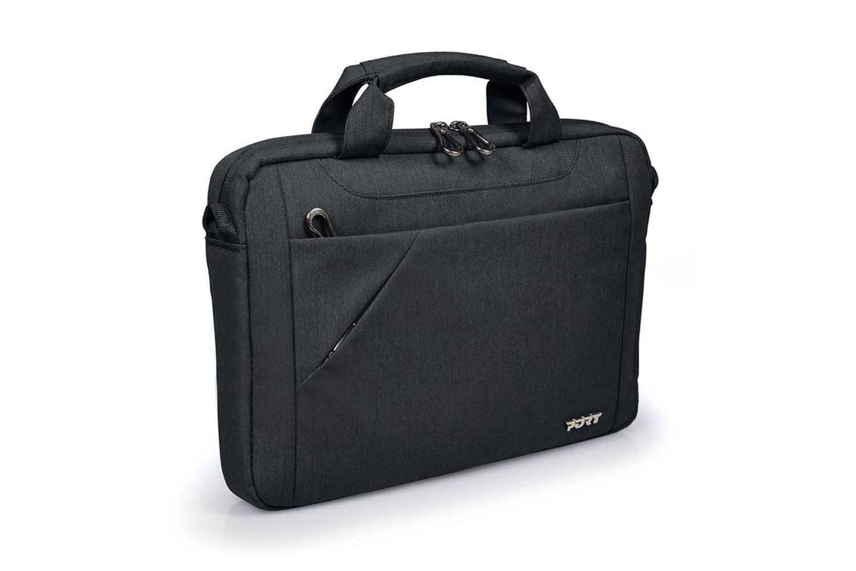 """Port Sydney 13-14"""" Messenger Bag   Black"""