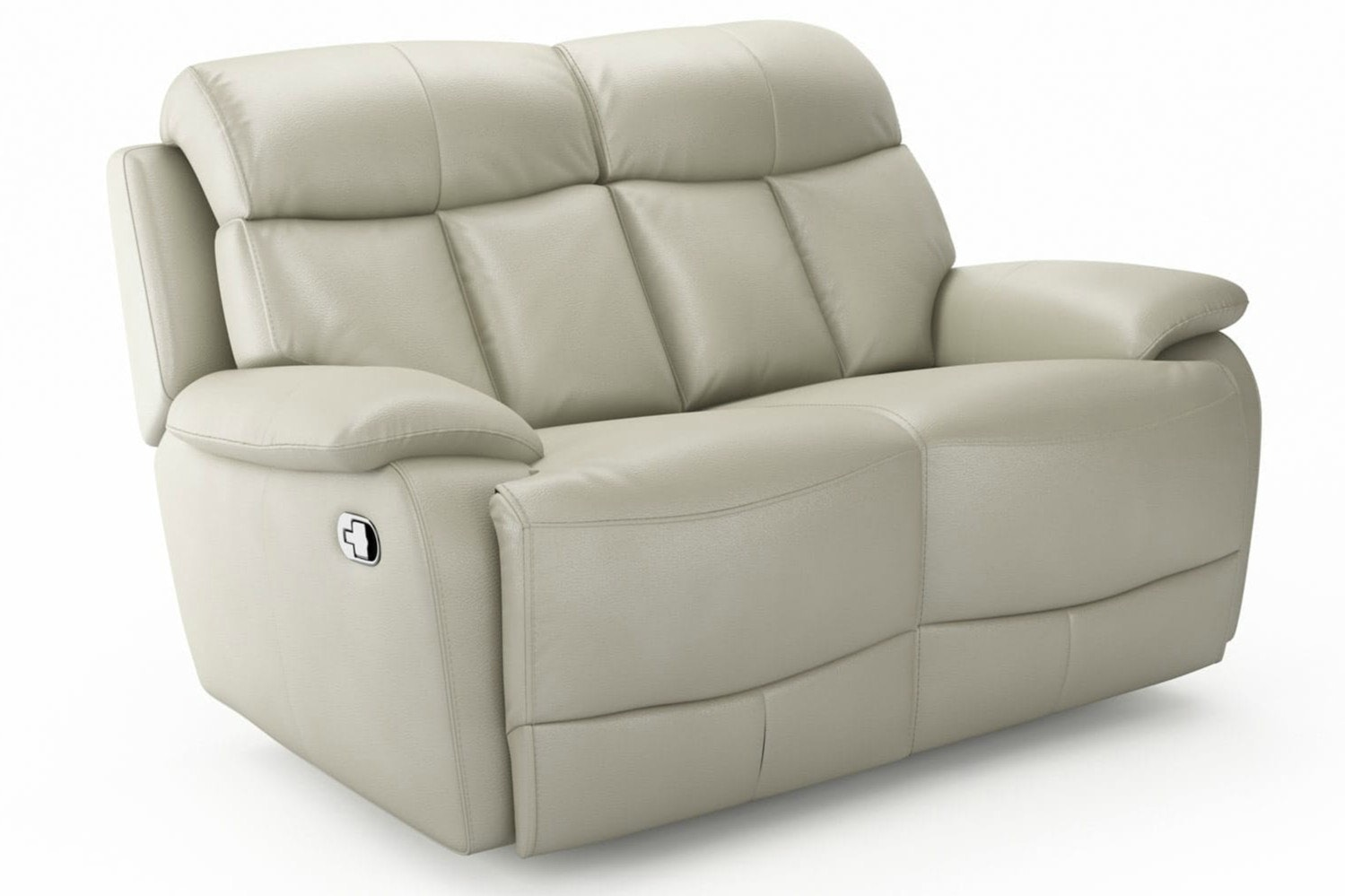 Seline 2 Seater Leather Recliner Sofa