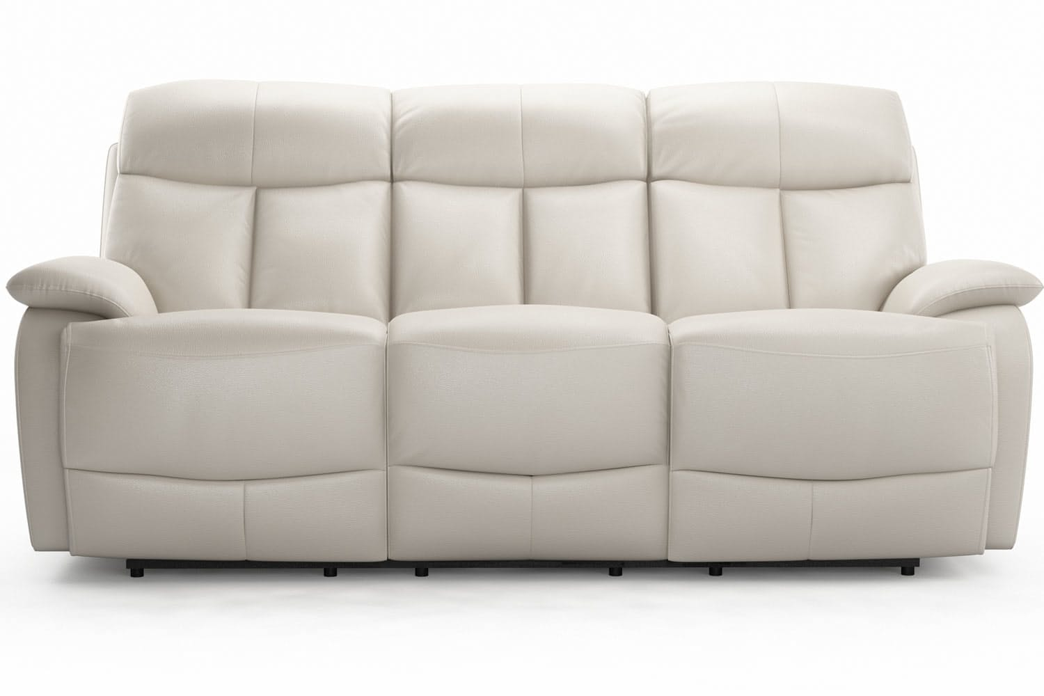 Seline 3 Seater Leather Recliner Sofa