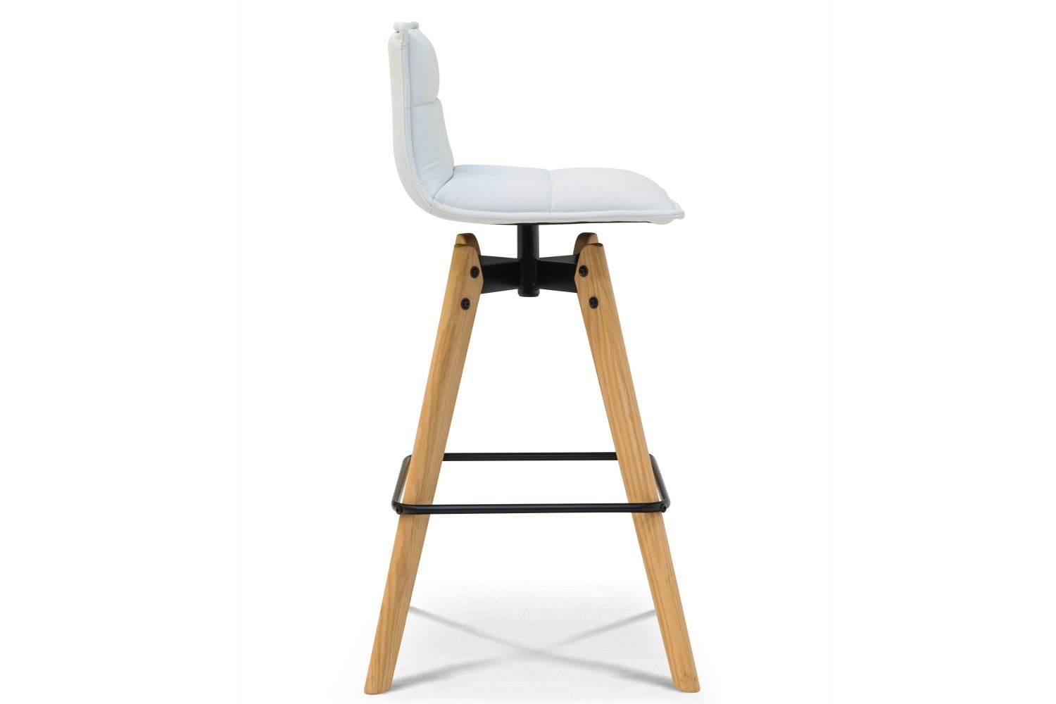 Block Bar Stool | White