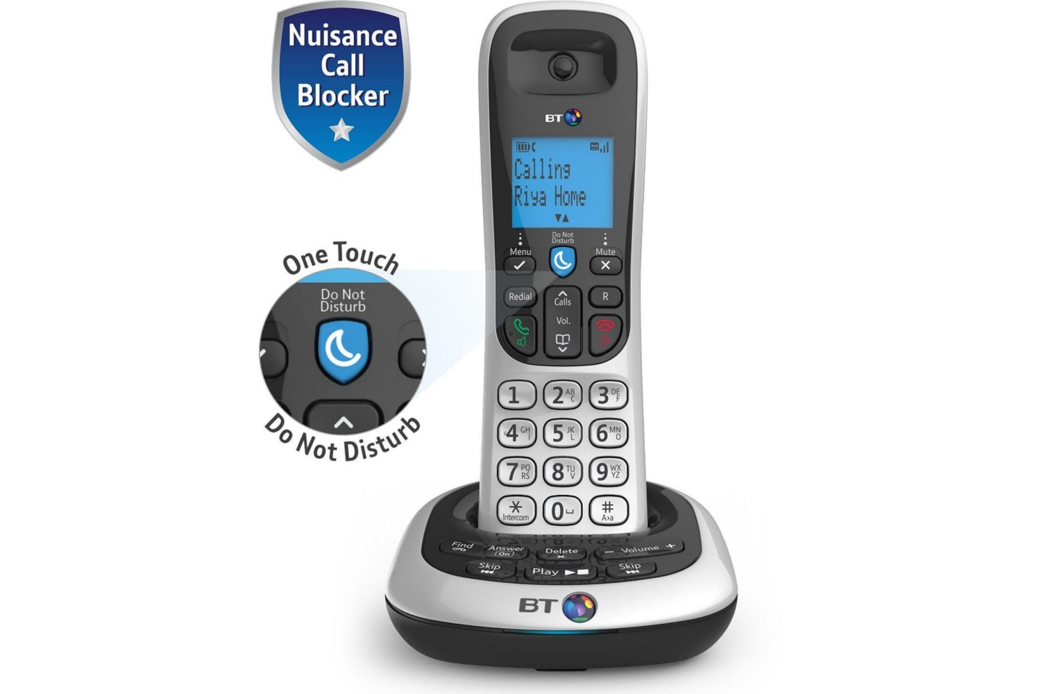BT 2700  Cordless Home Phone | Single
