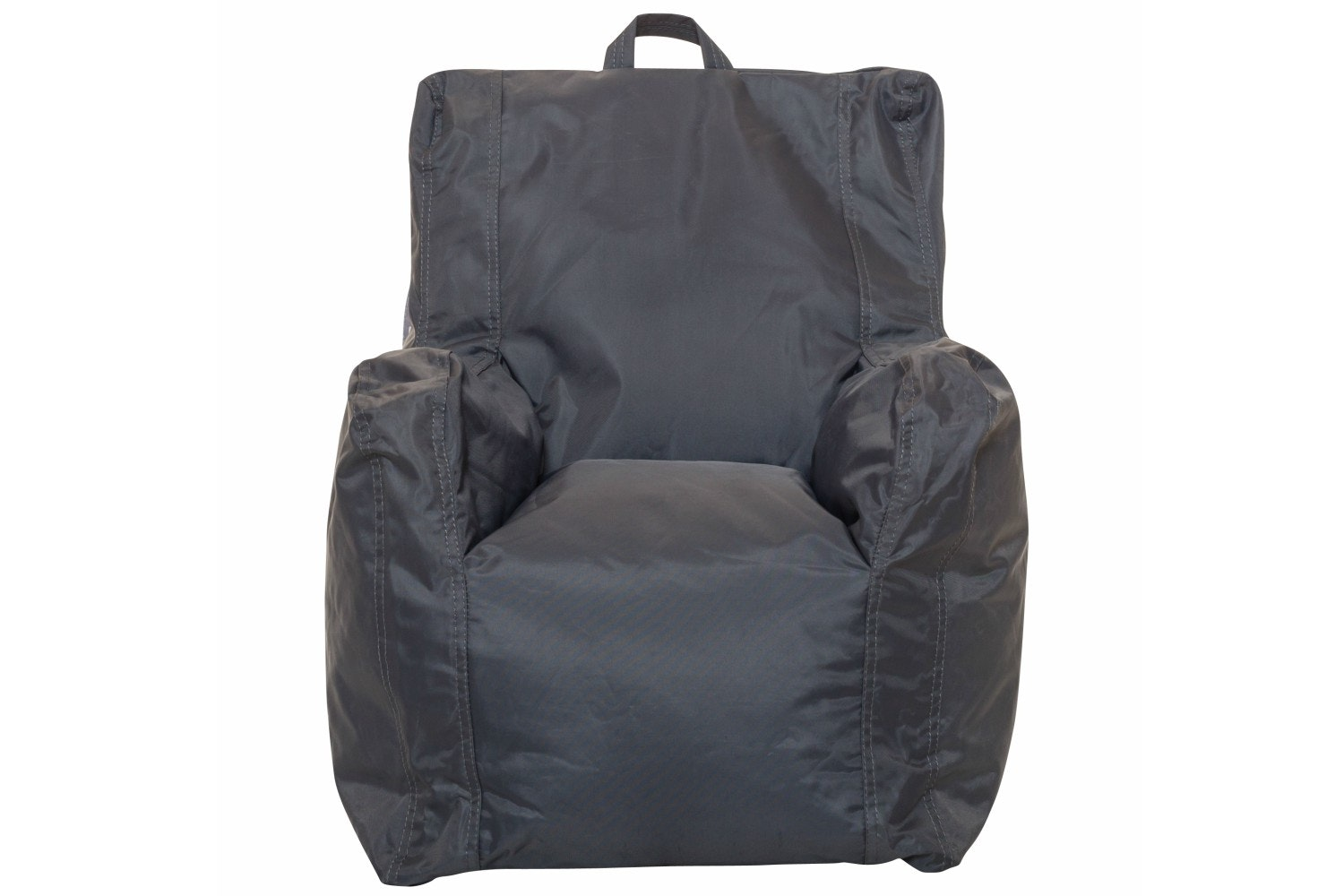CHILLAX B/BAG KIDS ARM CHAIR GREY