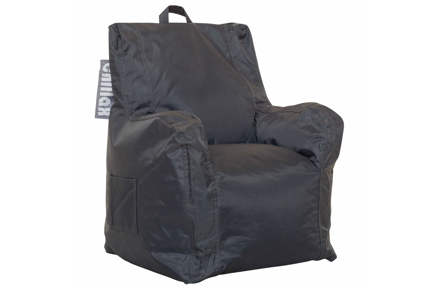 Chillax Kids Armchair Bean Bag | Grey