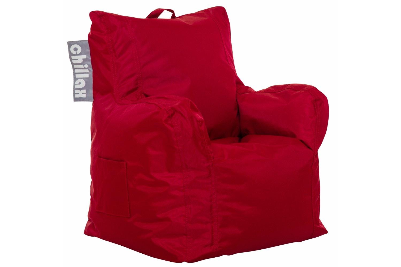 Chillax Kids Armchair Bean Bag | Red