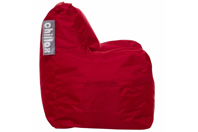 Chillax Kids Armchair Bean Bag   Red