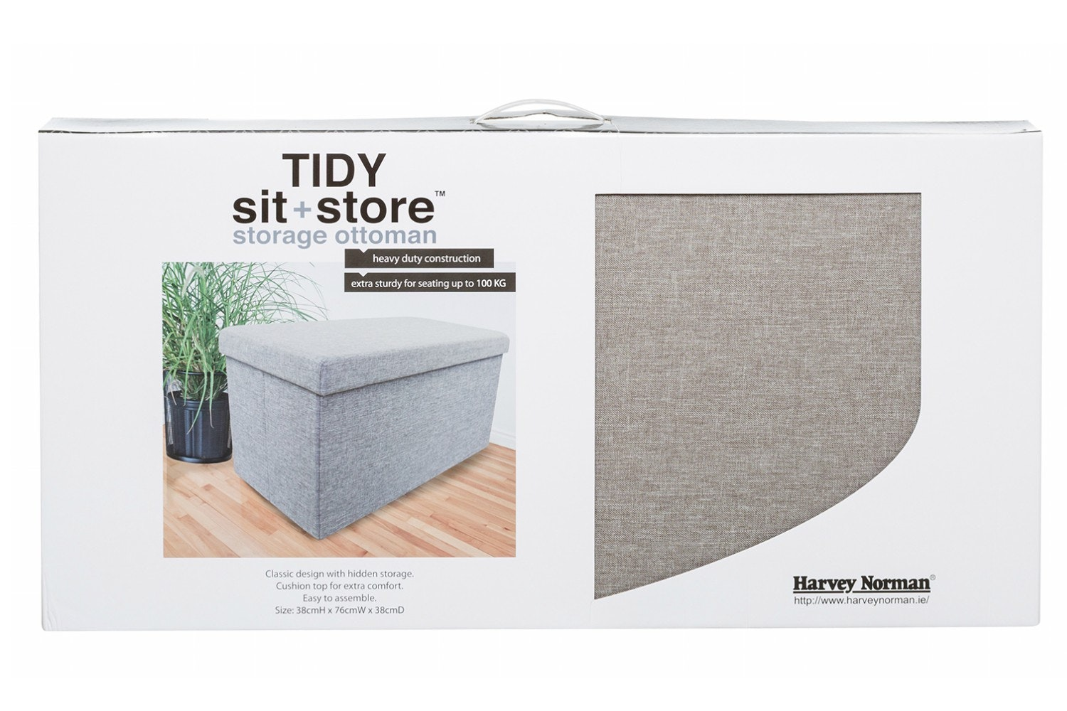 Tidy Sit & Store | Large Grey