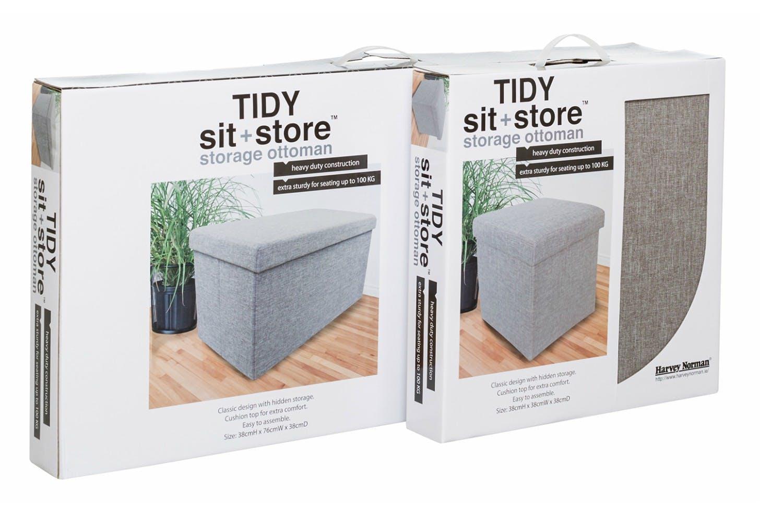 Add to wish list - Tidy Sit & Store Large Grey Ireland