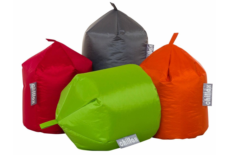 Chillax Round Bean Bag | Grey