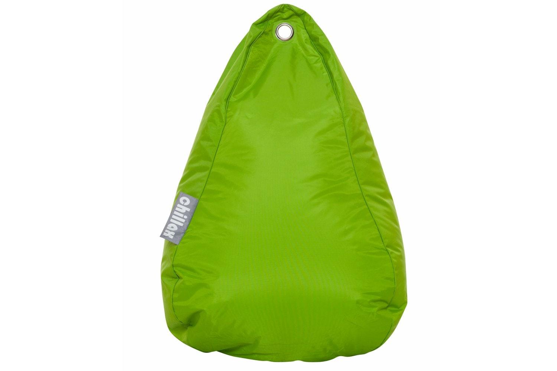 Chillax Tear Drop Bean Bag   Lime