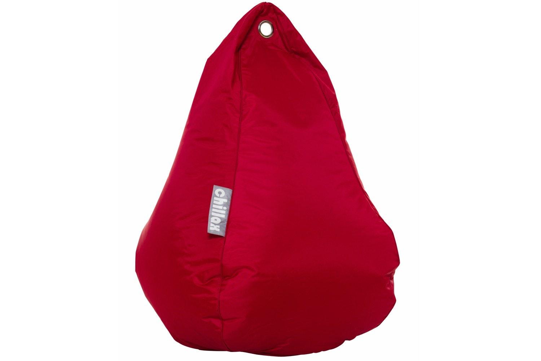 Chillax Tear Drop Bean Bag   Red