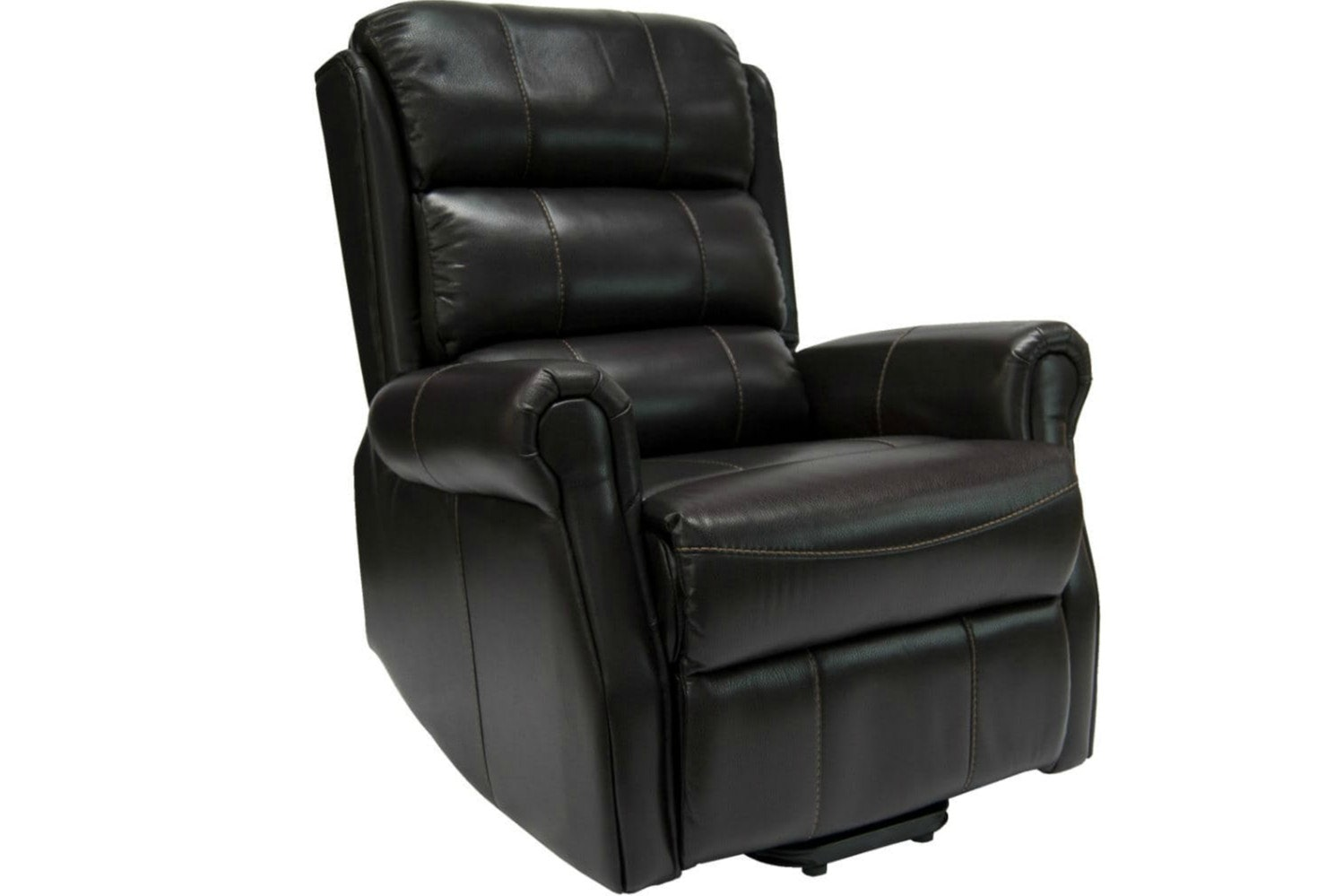 Hudson Recliner Electric Leather