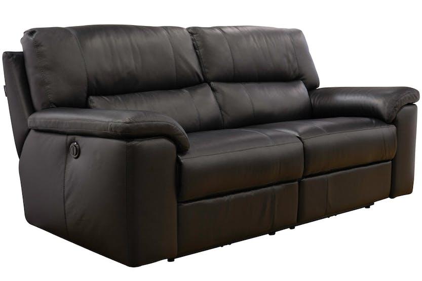 Iris Electric 3 Seater Leather Sofa Ireland