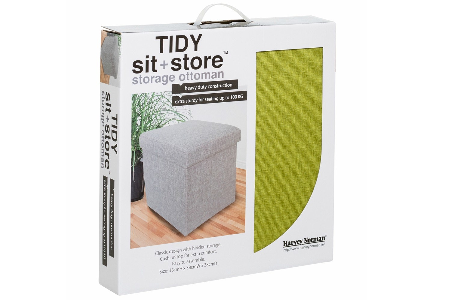 Tidy Sit & Store | Small Green