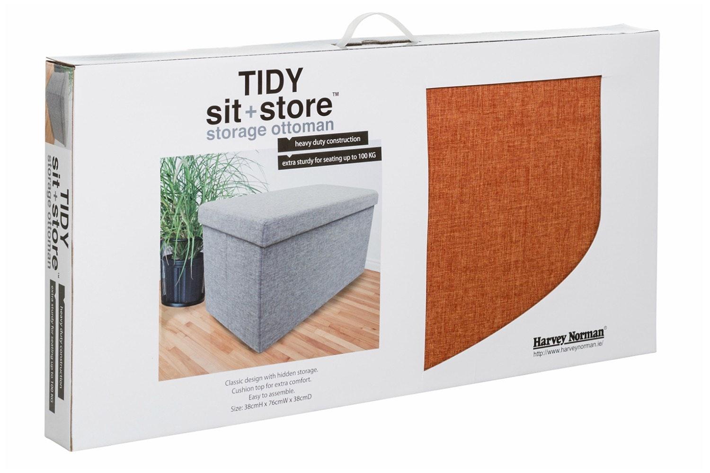 Tidy Sit & Store | Large Orange
