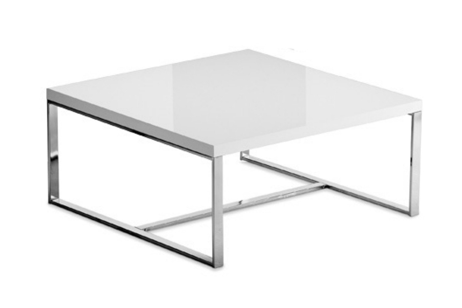 Sushi Square Coffee Table | White