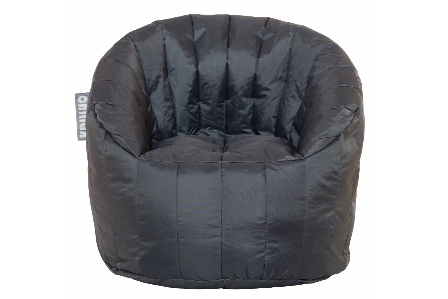 Chillax Kids Tub Chair Bean Bag | Grey