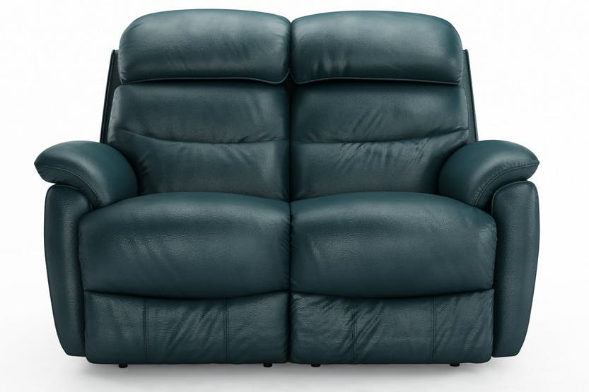 Tyler 2 Seater Leather Recliner Sofa | Ireland