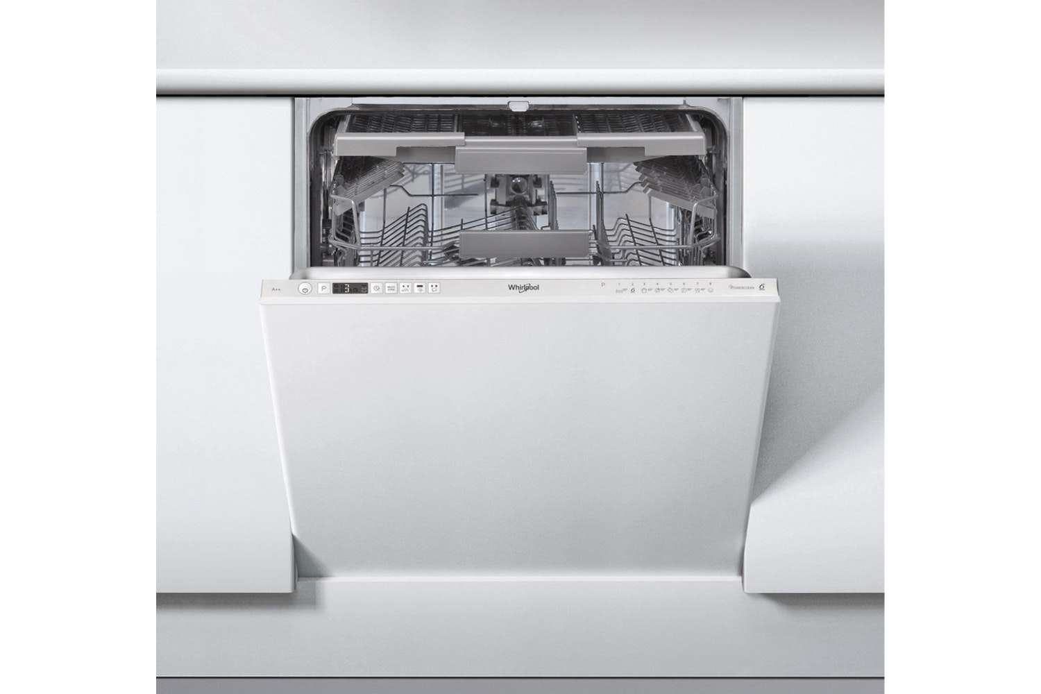 Whirlpool 6th Sense Fully Integrated Dishwasher | 14 Place | WIC3C23PEF