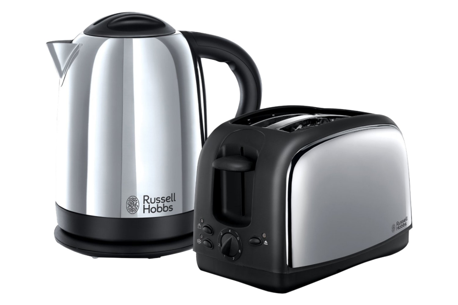 Russell Hobbs Stainless Steel Lincoln Twin Pack