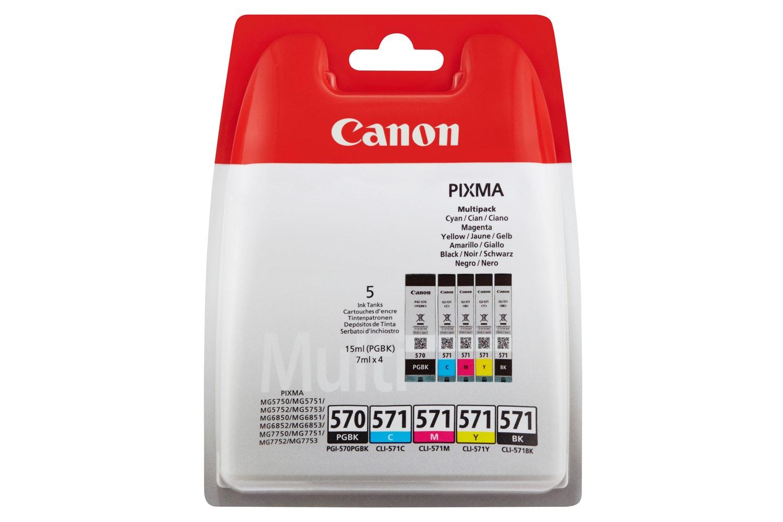 Canon PGI-570 / CLI-571 Ink Multipack | 4 Pack