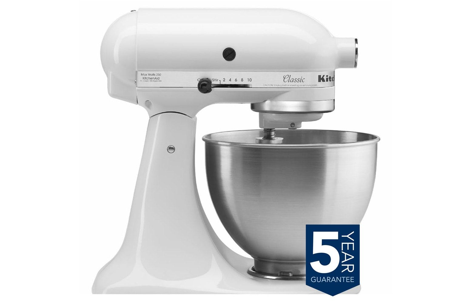 Kitchen Aid Stand Mixer White| 5K45SSBWH
