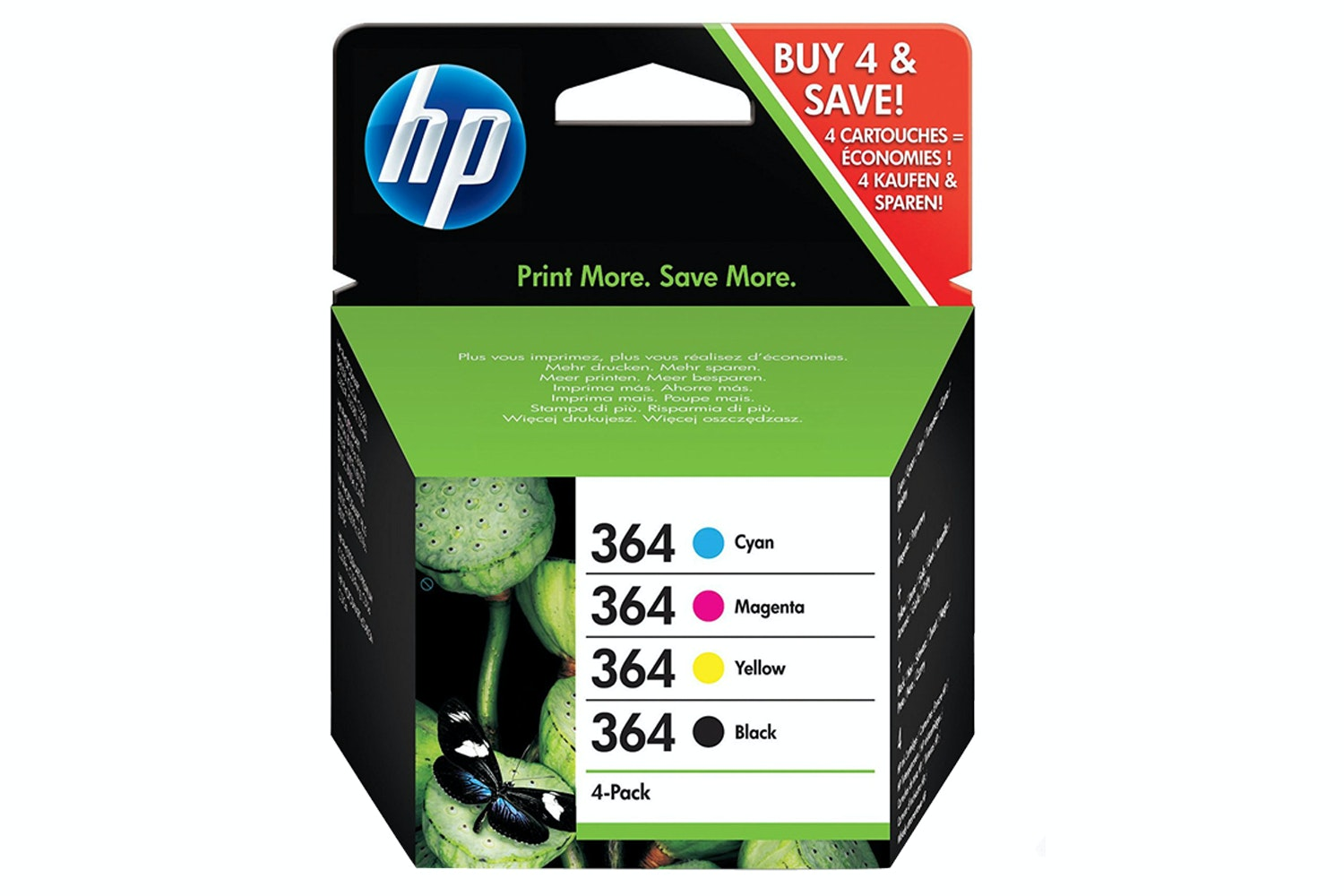 HP 364 Ink Combo Pack