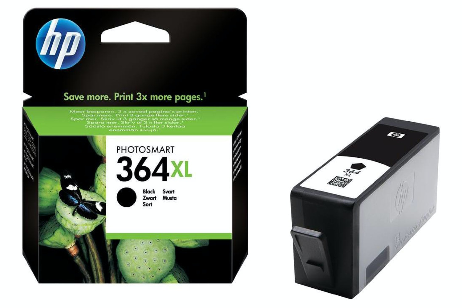 HP 364 XL Black Ink