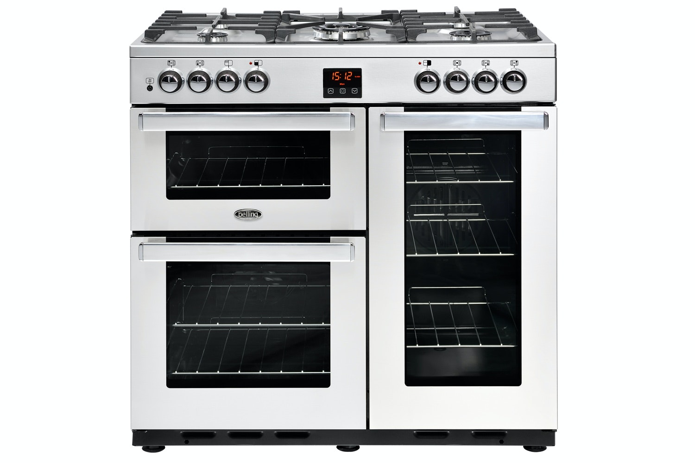 Belling Cookcentre 90cm Range Cooker | 90DFTPROFSTA