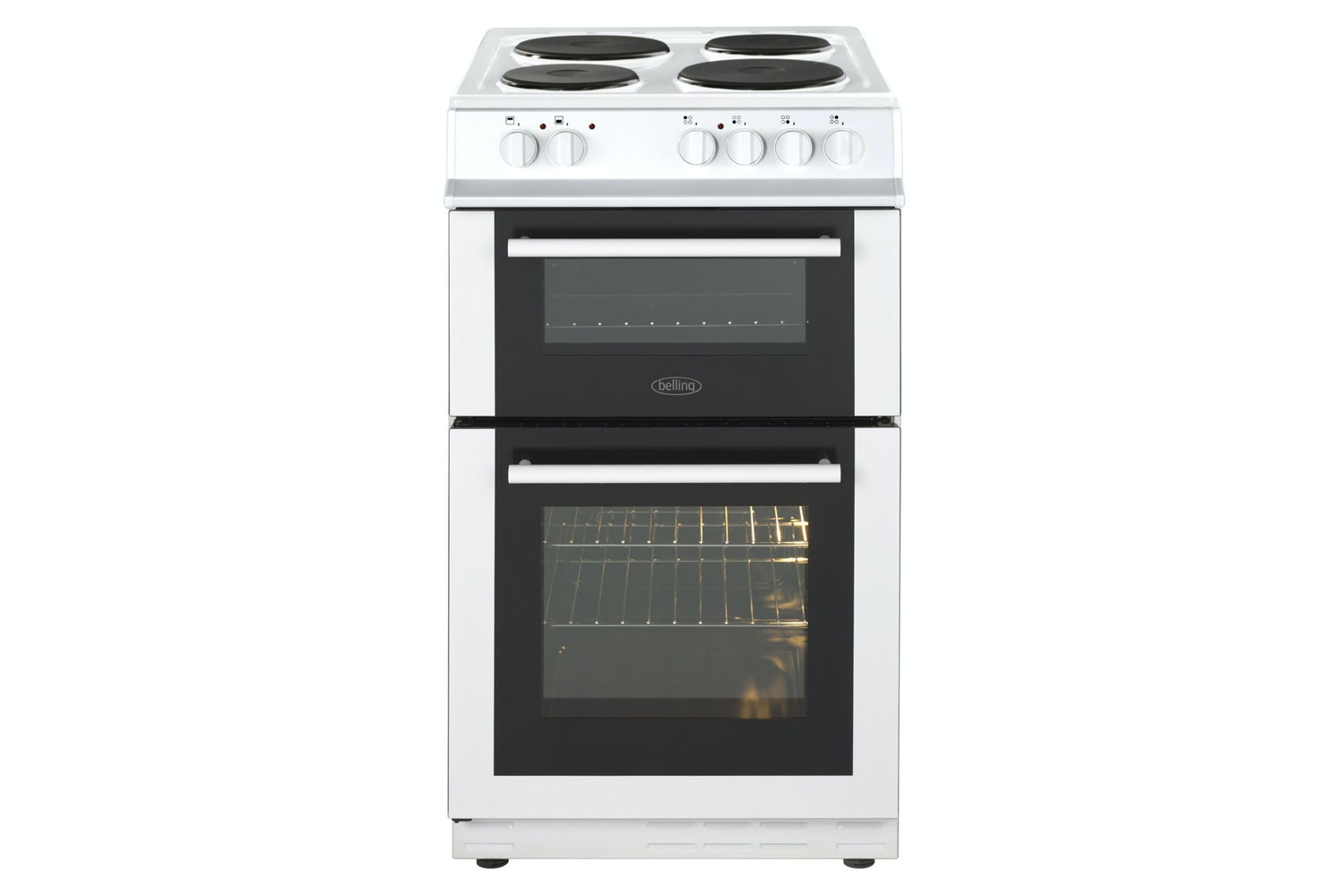 Belling 50Cm Twin Cavity Electric Oven | FS50ETWH