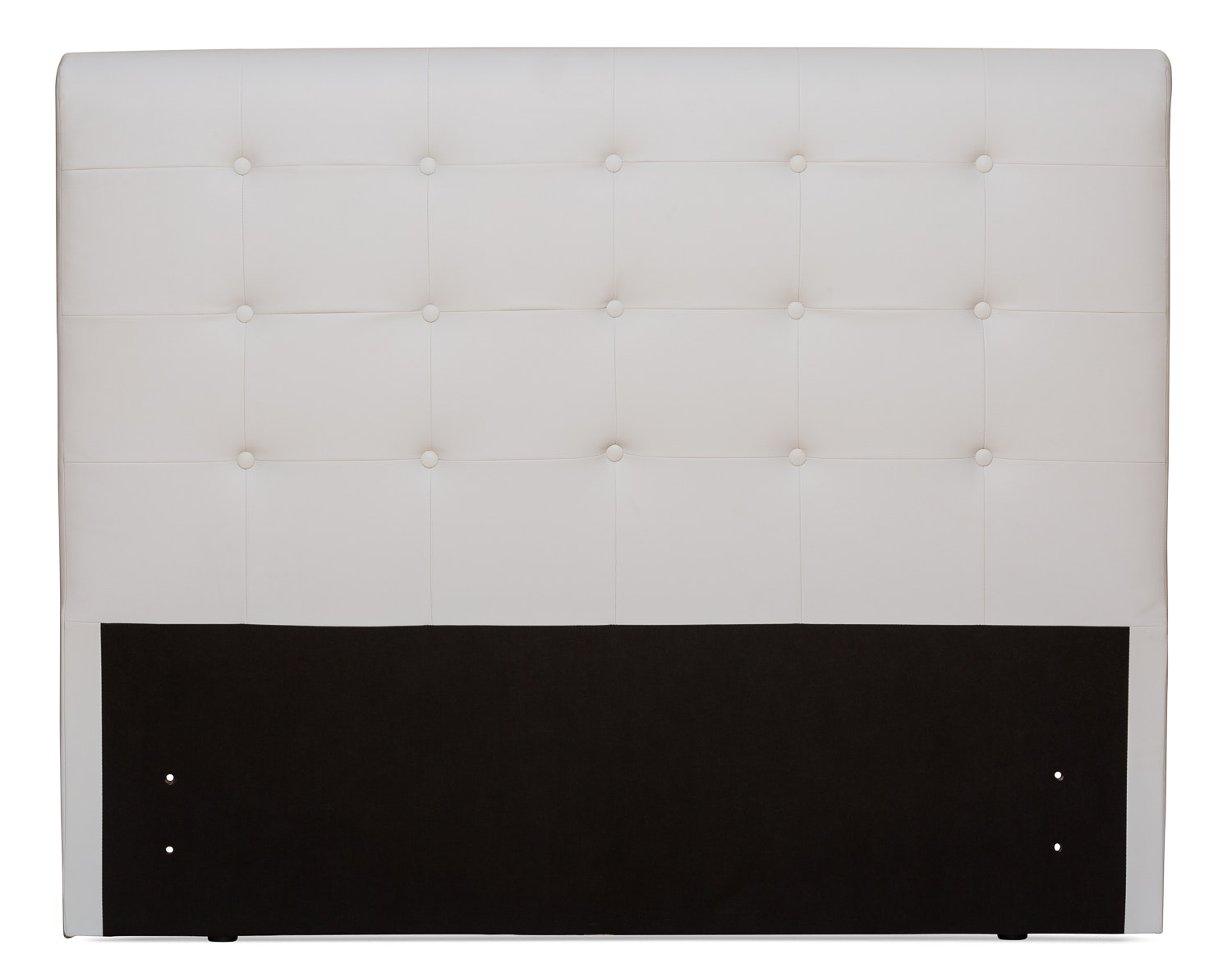 Duval Headboard | Scroll Top | White | 4ft6
