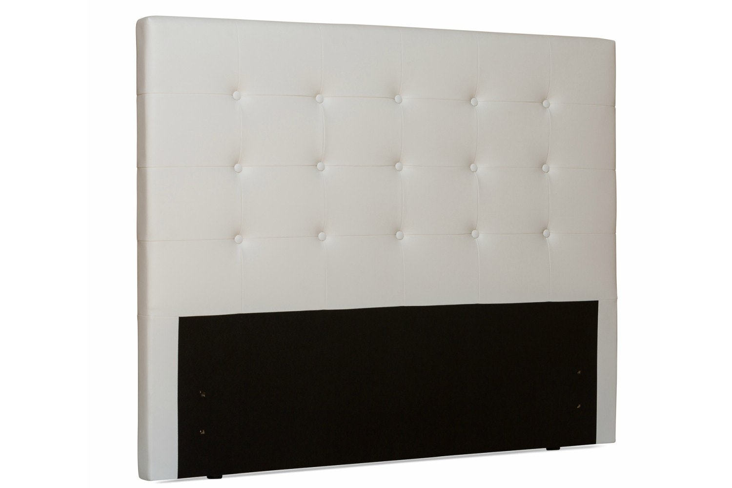 Duval Headboard | Tufted Button | White | 4ft6