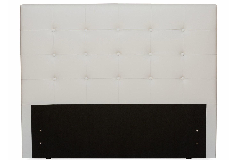 Duval Headboard | Scroll Top| White | 5ft