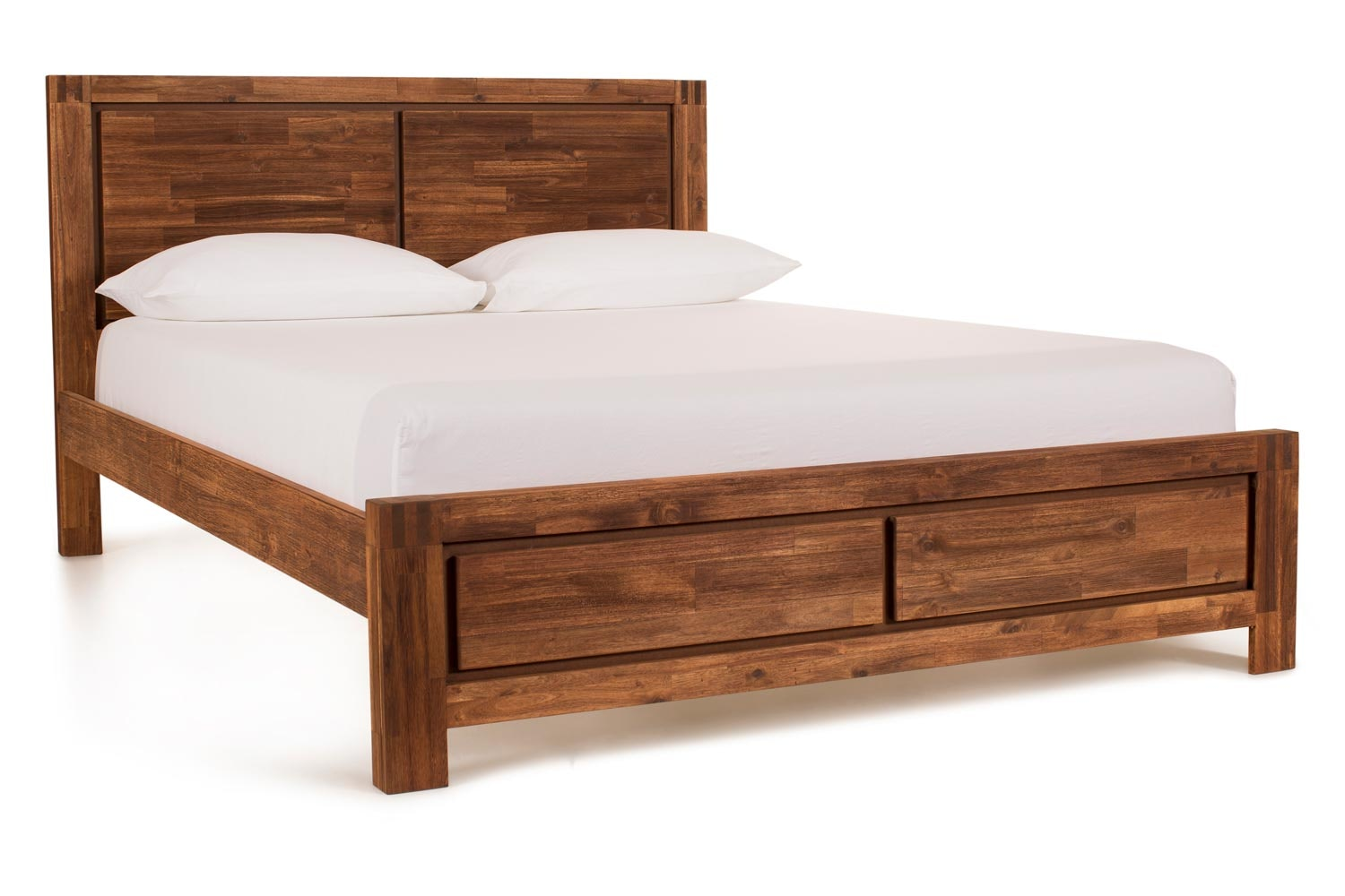 Kenny Bed Frame | 4ft6 |  Brushed Cognac