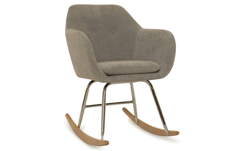Emilia Bedroom Rocker Armchair   Grey ...