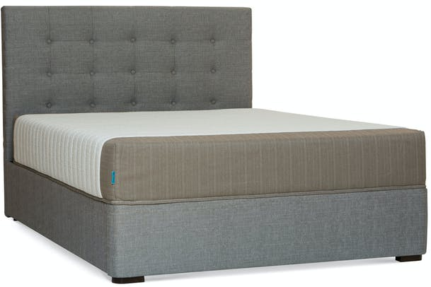 Duval Bed | Tufted Button | Grey | 5ft