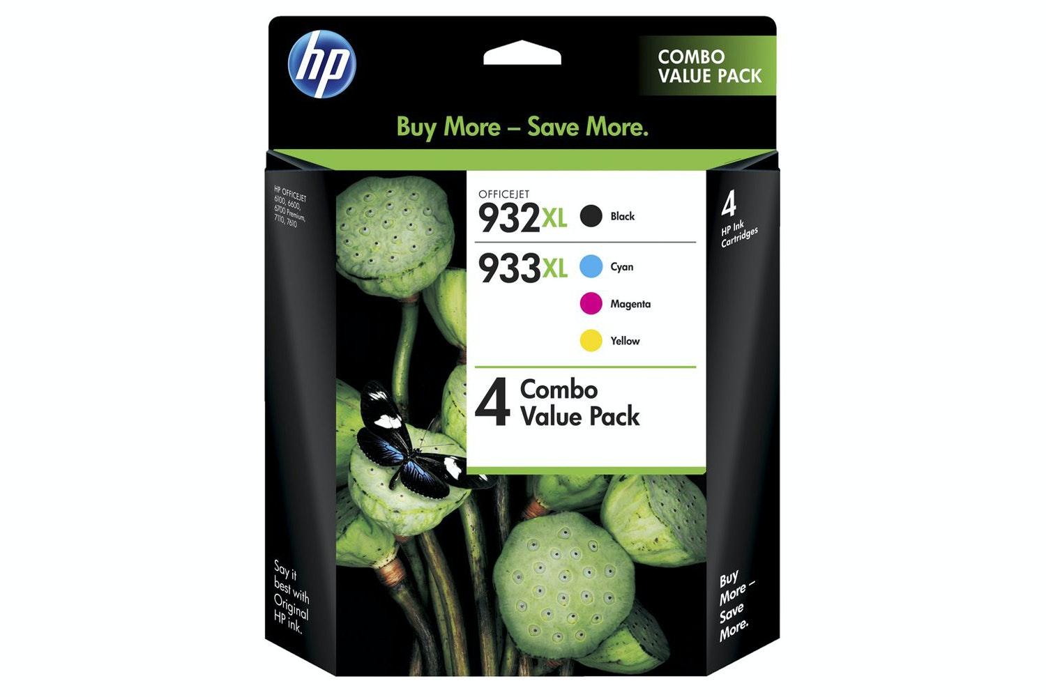 HP 932/933 XL Combo Pack