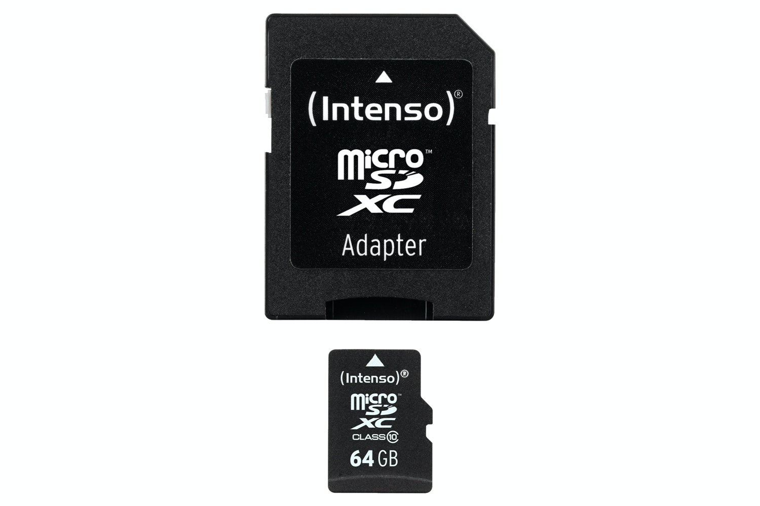 Intenso 64GB Class 10 Micro SD Card and SD Adapter