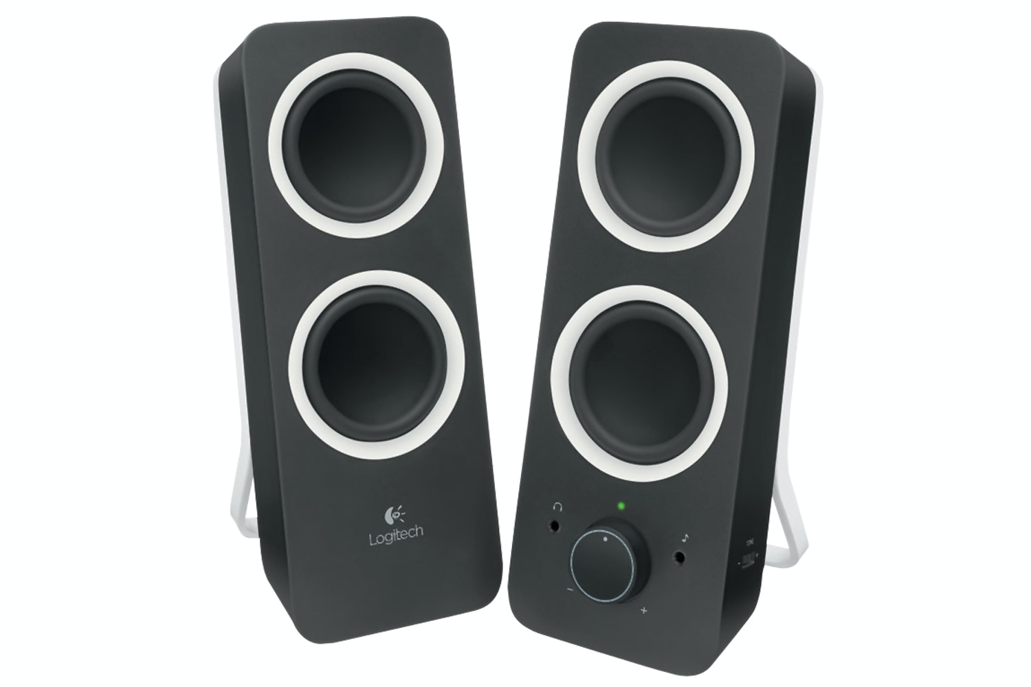 Logitech Z200 Stereo Speakers | Black