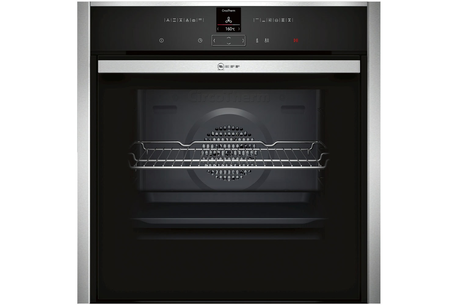 Neff Slide & Hide Single Oven | B57CR22N0B