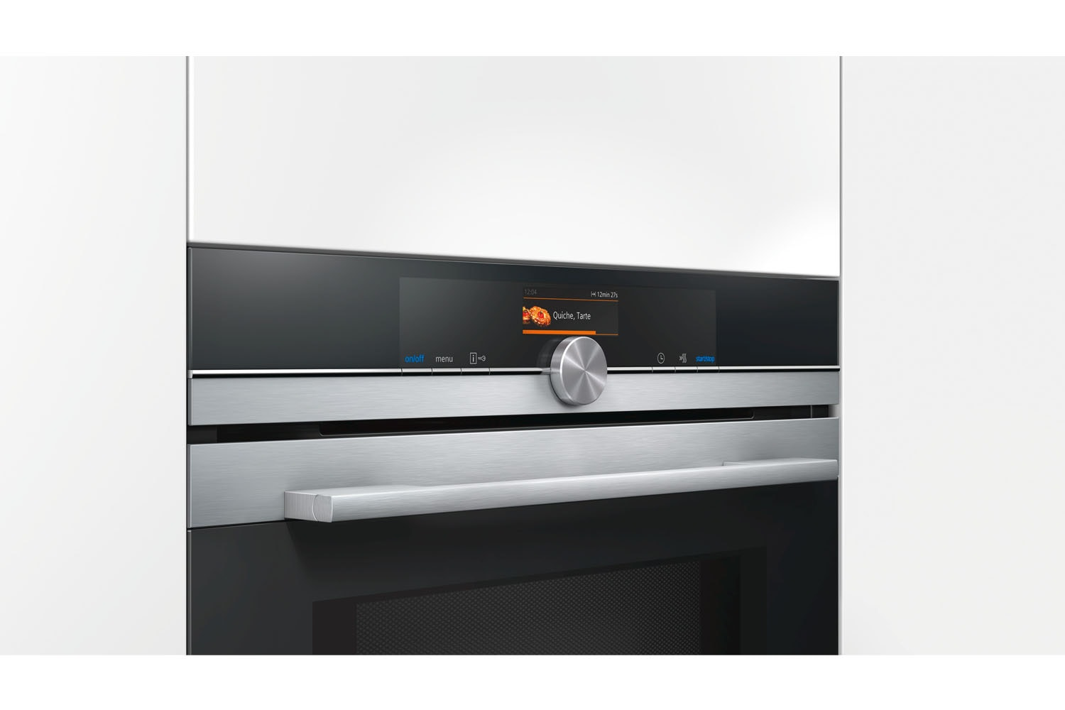 Siemens IQ700 Built-In Single Oven with Microwave | CM656GBS6B