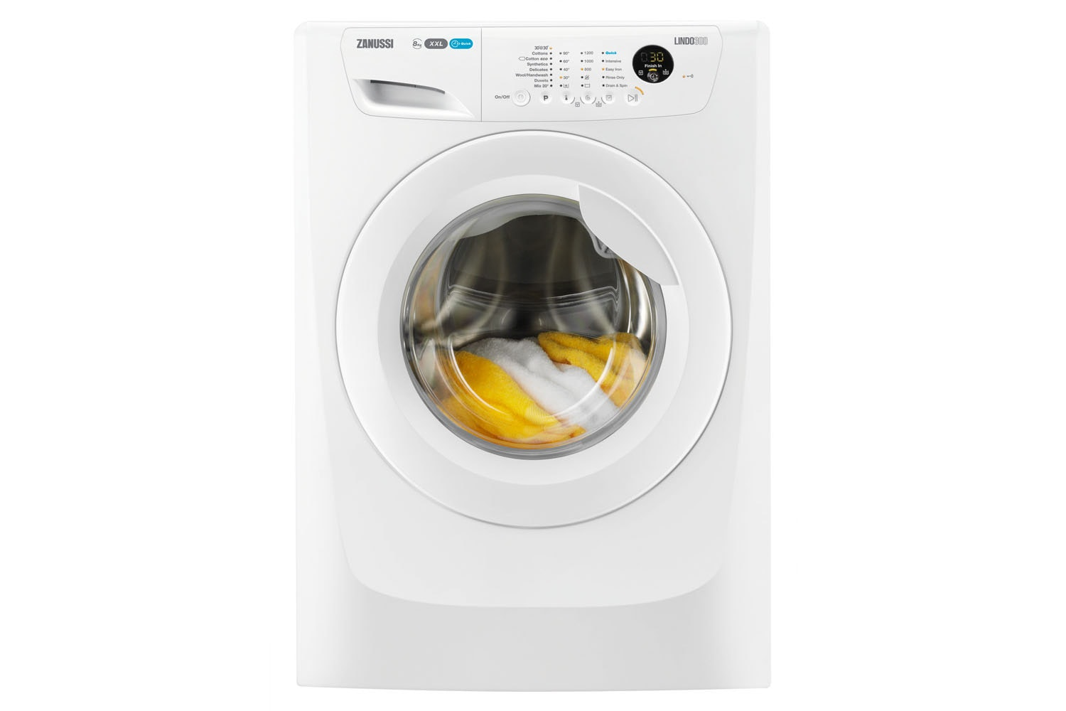 Zanussi 8KG Washing Machine | ZWF81263WT
