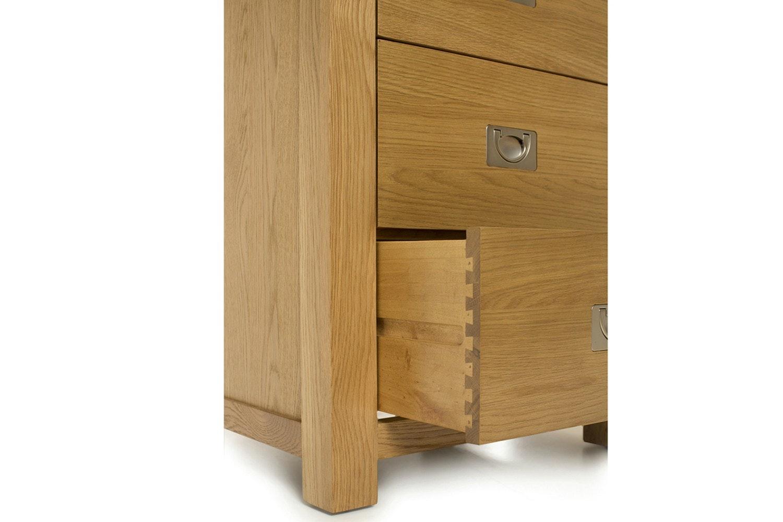 Arrington 5 Drawer Chest | Oak
