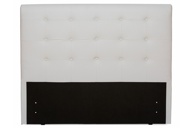 Duval 5' Headboard | Grey Vertical Stitch