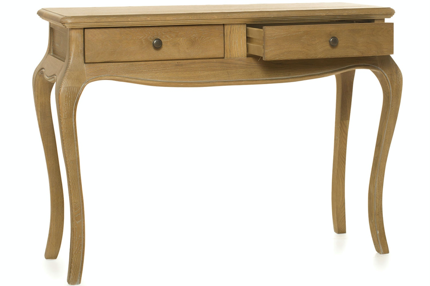 Florence 2 Drawer Dressing Table | Vintage Oak