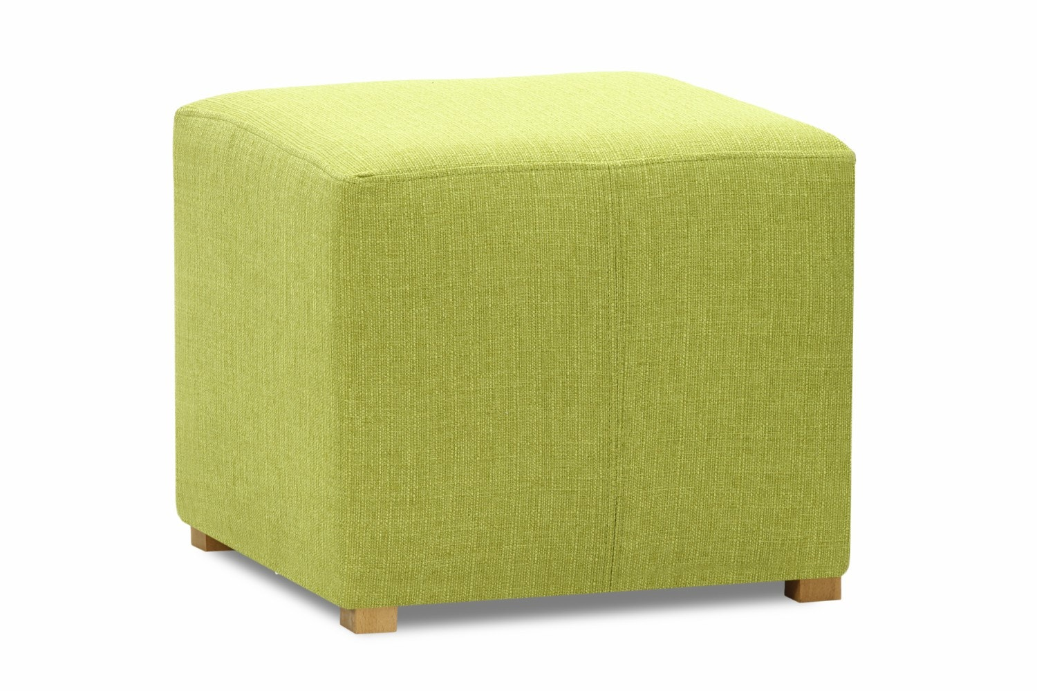 Pufa Bedroom Stool Cube | Portland Green