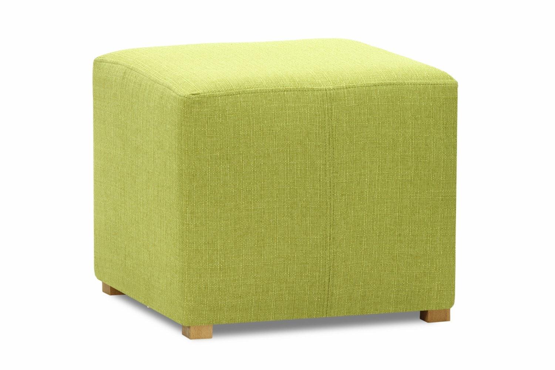 Pufa Bedroom Stool Cube | Portland Green